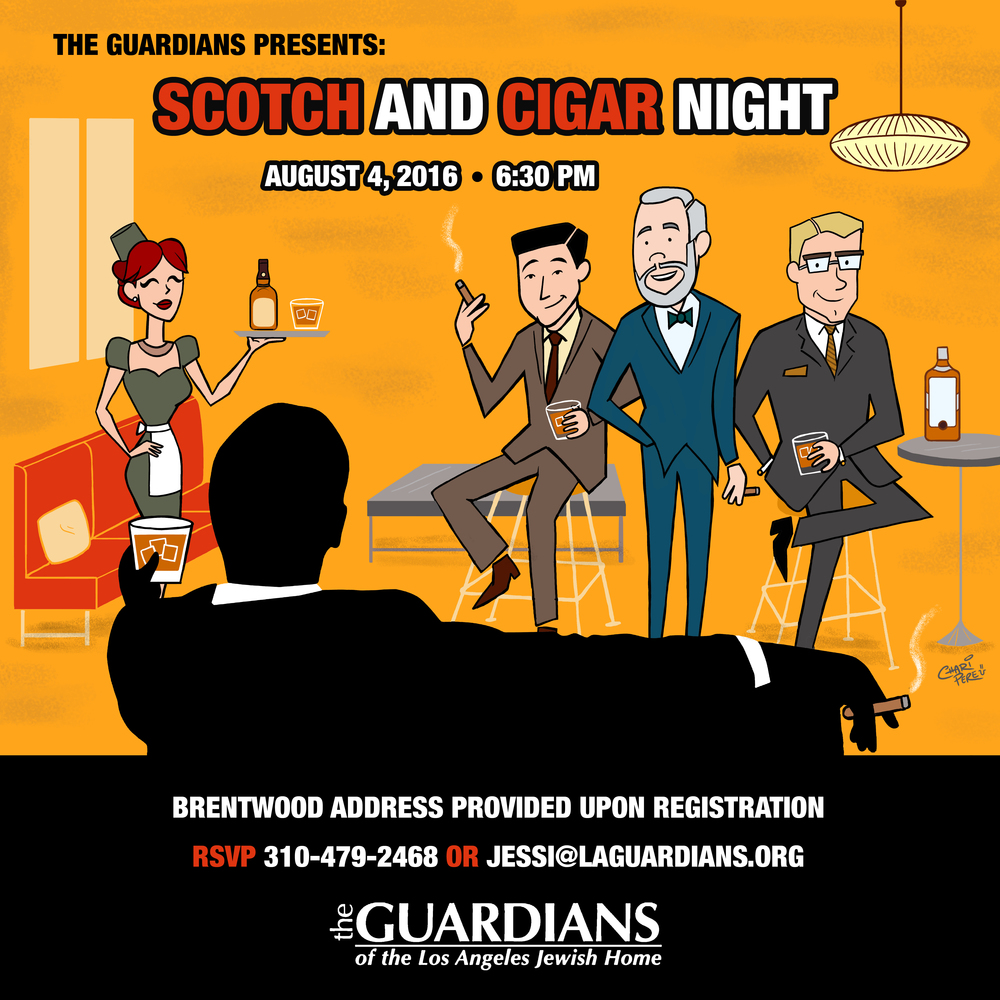 The Guardian's: Scotch & Cigar Night