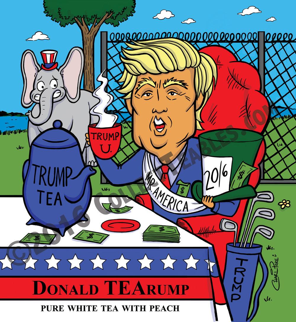 Donald TEArump