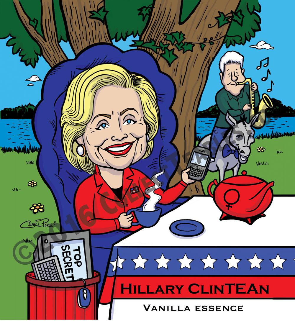 Hillary ClinTEAn