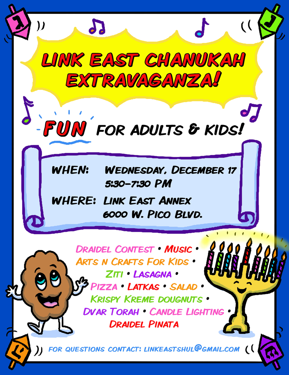 Chanukah Flyer