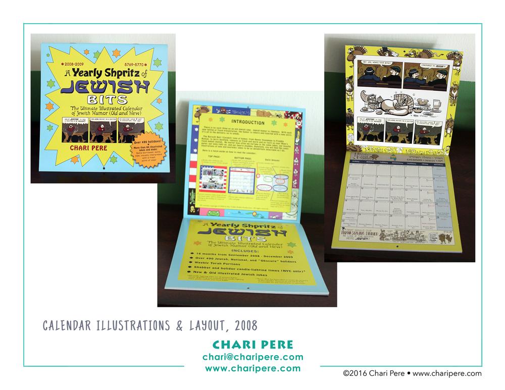 2008 Jewish Humor Calendar