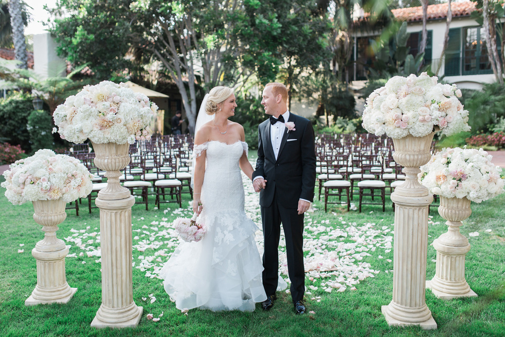 santabarbarawedding.com | Four Seasons Santa Barbara Weddings | Kiel Rucker Photography | Pretty Pink Wedding Inspiration | Lazaro Press Stationery and Design