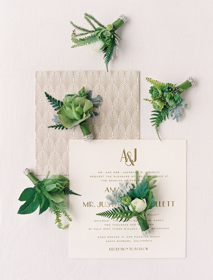 santabarbarawedding.com | Lazaro Press | Santa Barbara Wedding Style Blog | Invitations and Stationery