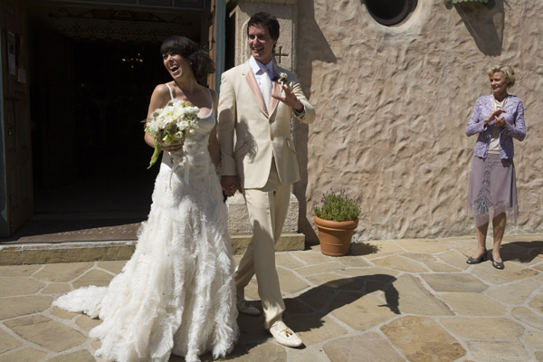 www.santabarbarawedding.com | Our Lady of Mount Carmel Ceremony | Melissa Musgrove Photography | Bride and Groom