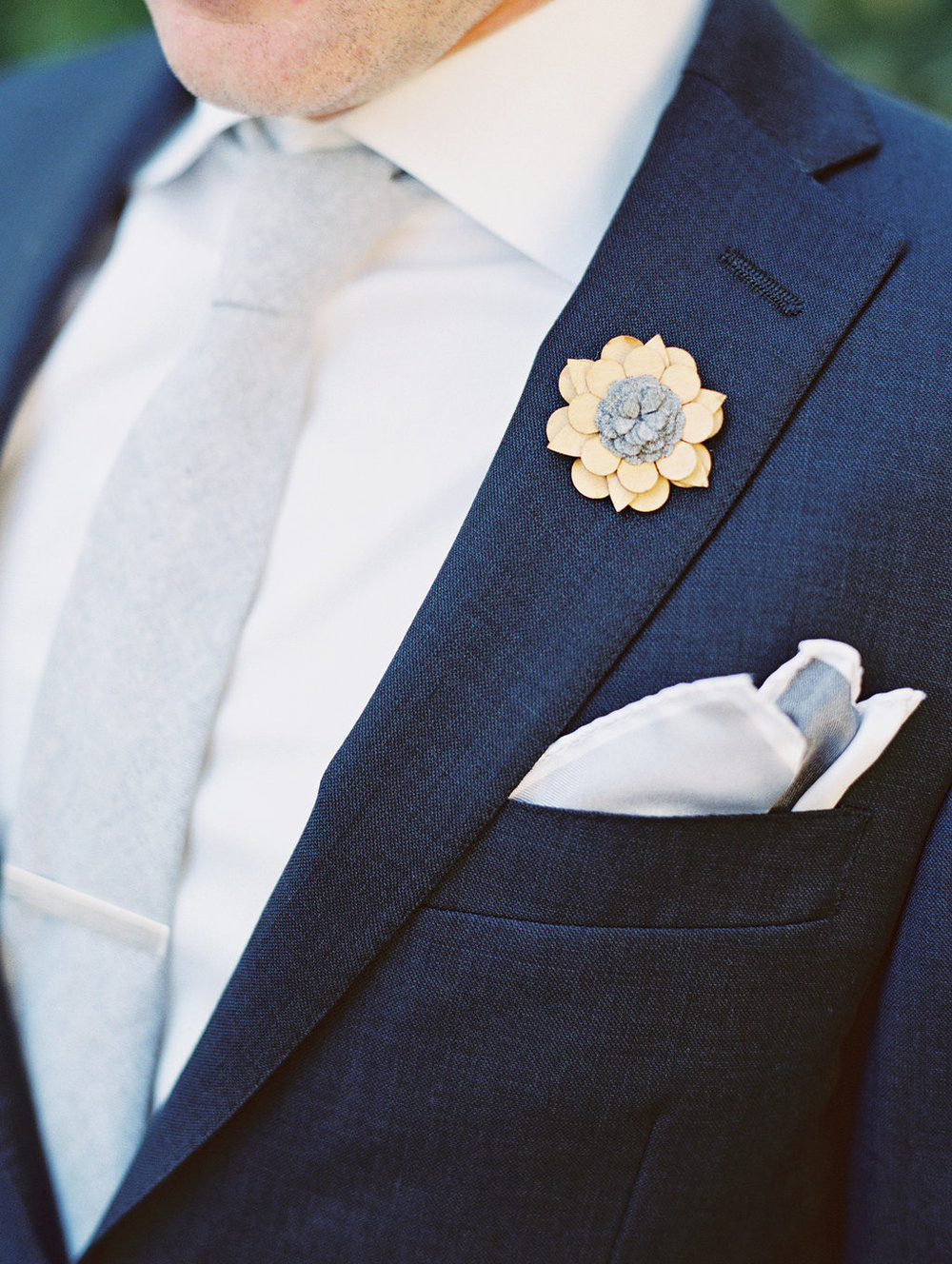 www.santabarbarawedding.com | Lavender and Twine | Sunstone Winery | Groom | Boutonniere