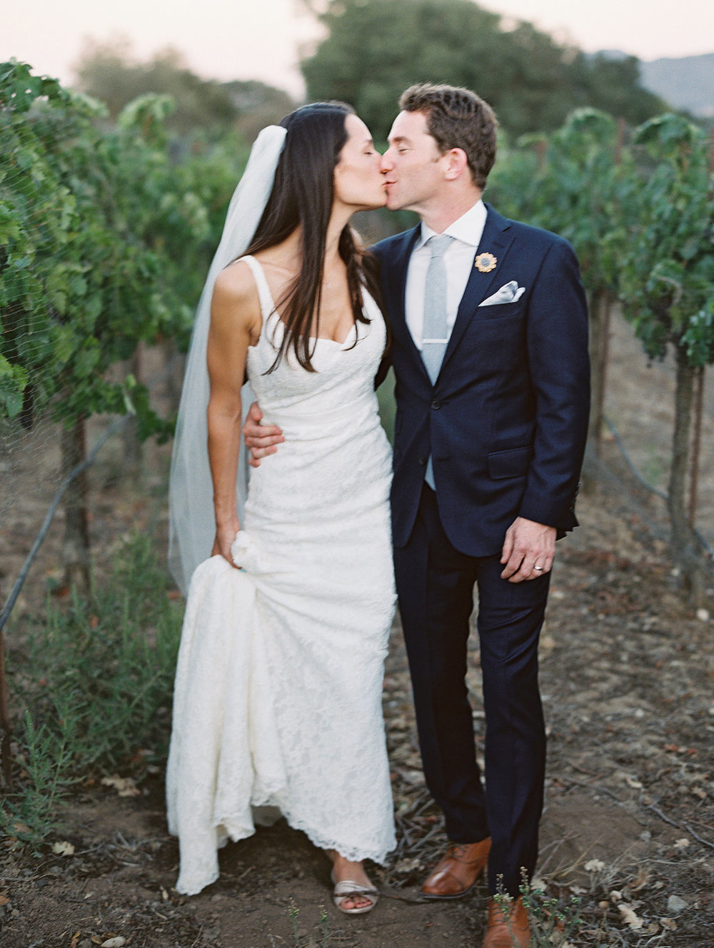 www.santabarbarawedding.com | Lavender and Twine | Sunstone Winery | Bride and Groom