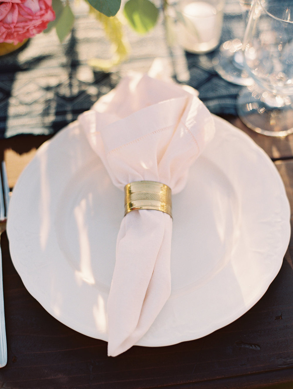 www.santabarbarawedding.com | Lavender and Twine | Sunstone Winery | Place Setting