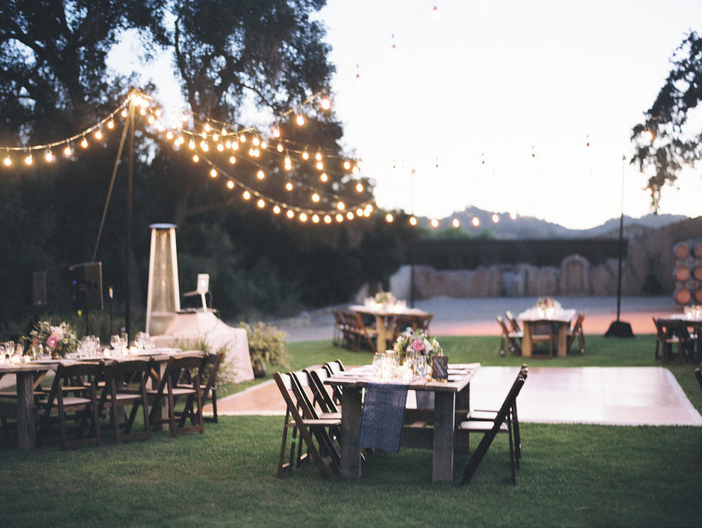www.santabarbarawedding.com | Lavender and Twine | Sunstone Winery | Reception