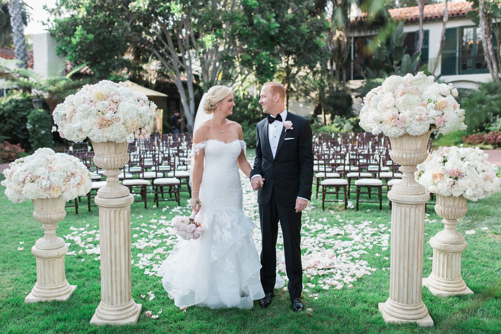 santabarbarawedding.com | Photographer: Kiel Rucker Photography | Santa Barbara Four Seasons Biltmore | Wedding Venue