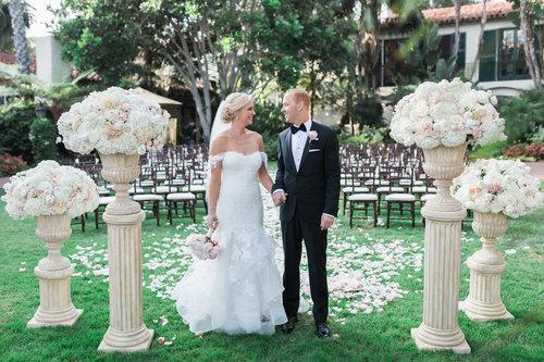 Biltmore Wedding Cost.Santa Barbara Four Seasons Santa Barbara Wedding Style