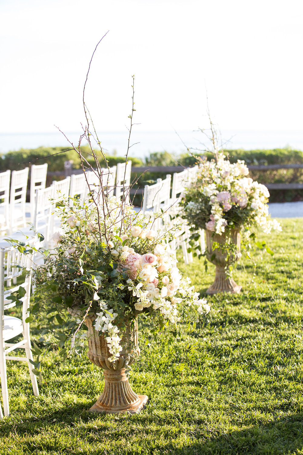 santabarbarawedding.com | photo: Melissa Musgrove | Elegant Bacara Wedding with Wild Greenery Ceremony Arbor