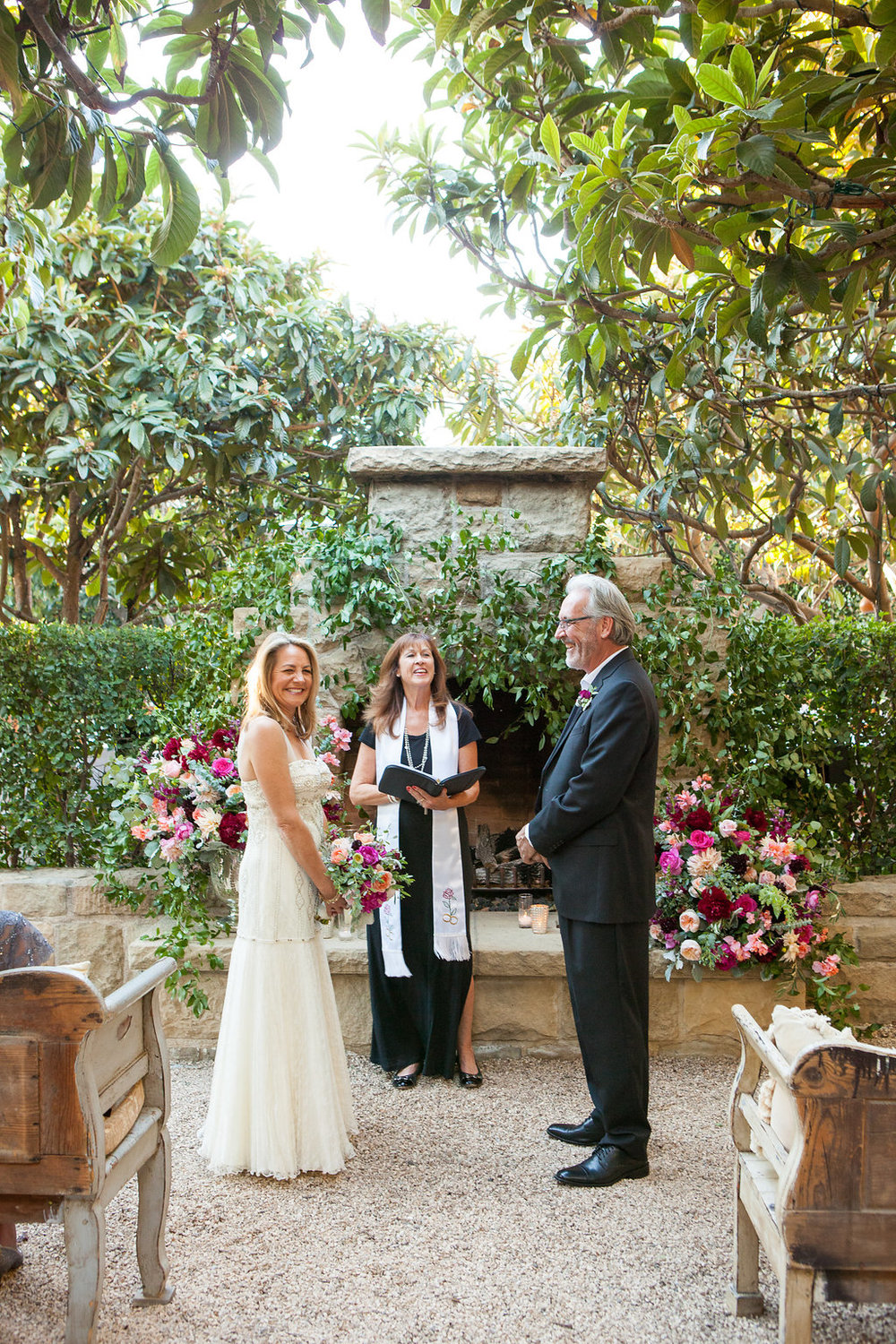 Barbara Mousouris Wedding Officiate San Ysidro Ranch Santa Barbara Wedding Style Planning