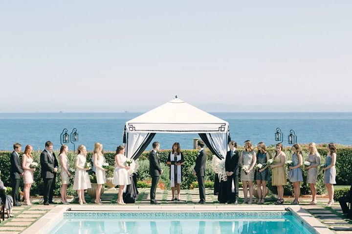 Barbara Mousouris Wedding Officiate Private Estate Wedding Santa Barbara Wedding Style Planning