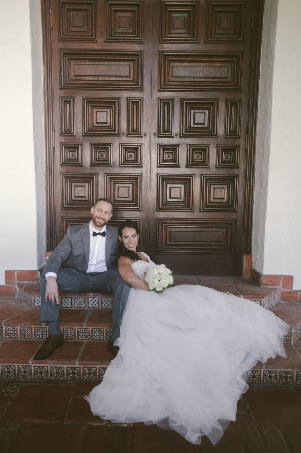 www.santabarbarawedding.com | Santa Barbara Courthouse | Photo: By Cherry Photography | elopement locations