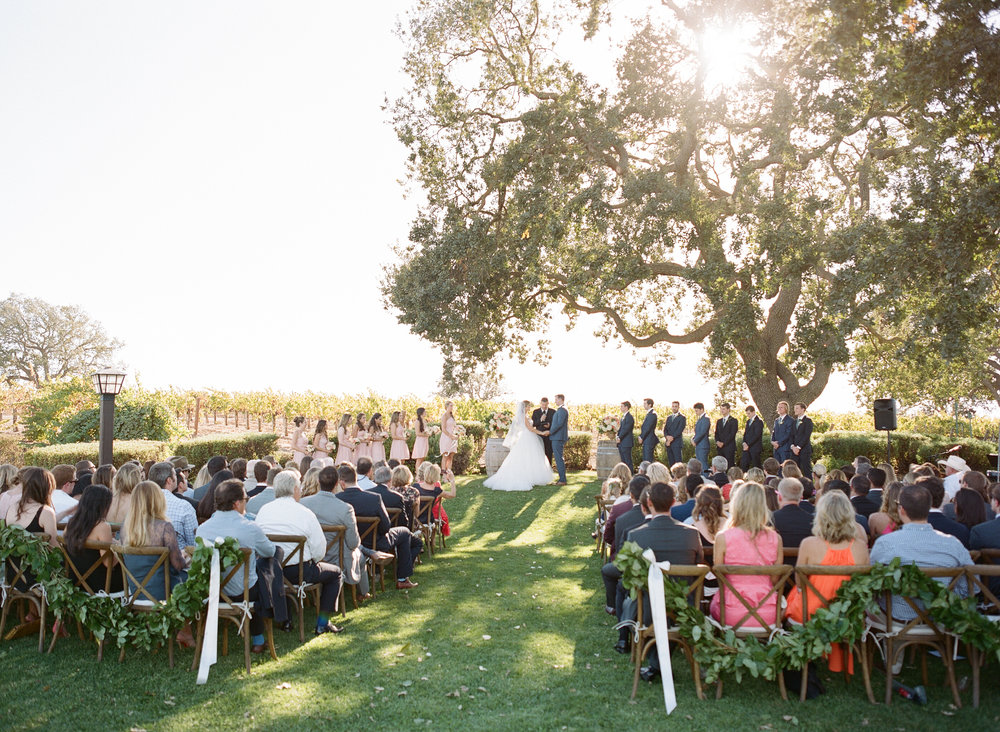 santabarbarawedding.com | Photo: Beaux Arts Photographie | Gainey Vineyard Santa Ynez Wedding Venue