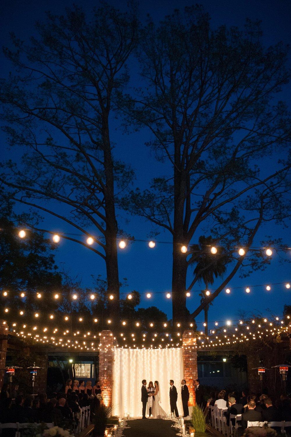 www.santabarbaraweddingstyle.com | Santa Barbara Wedding Style | Felici Events | El Encanto Wedding | Nate and Jenny Weddings | Bellavista Designs Lighting | Precious and Blooming | Wedding Ceremony