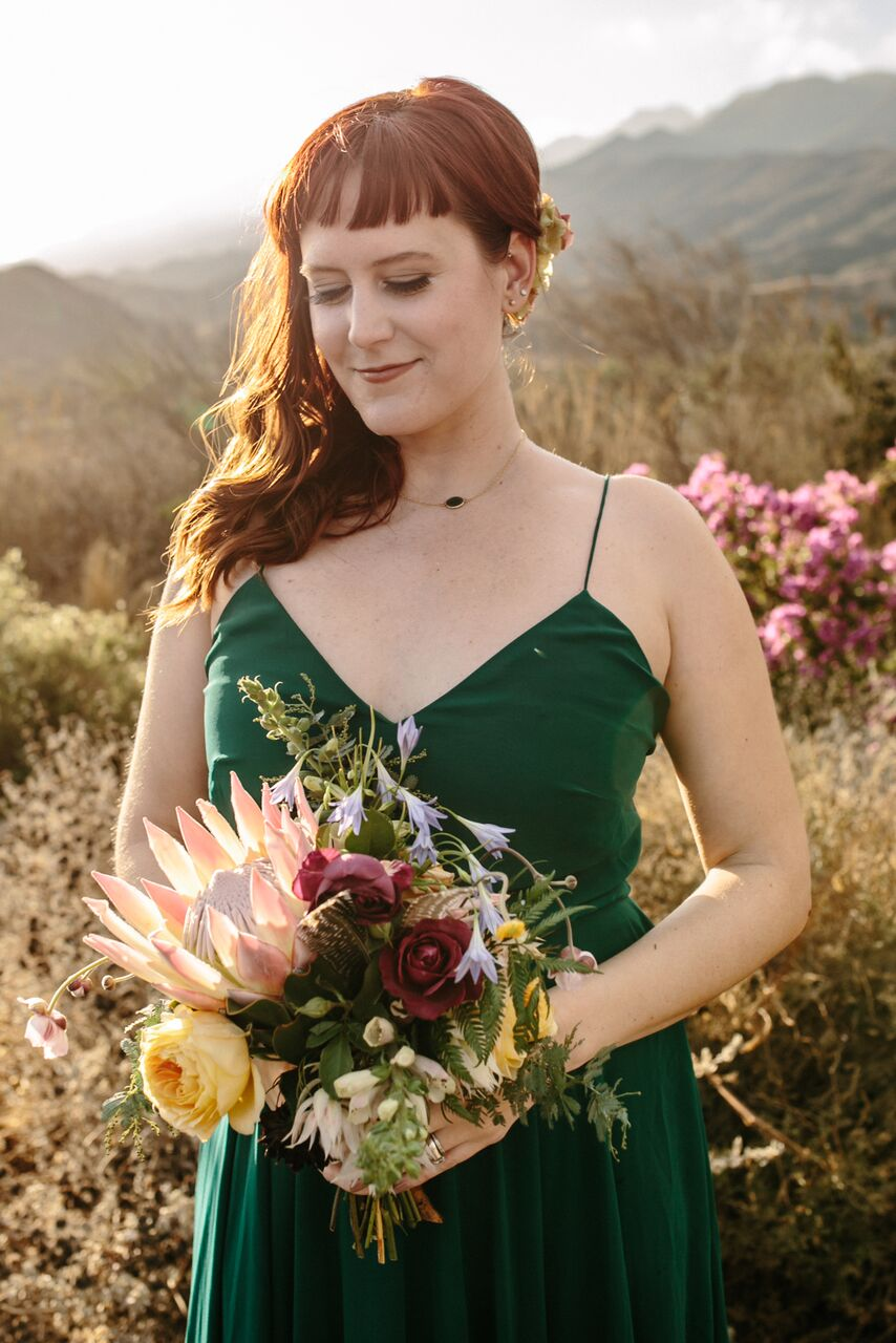 santabarbarawedding.com | Ella & Louie Floral Design | Florist | Wedding Flowers | Alternative Bouquets