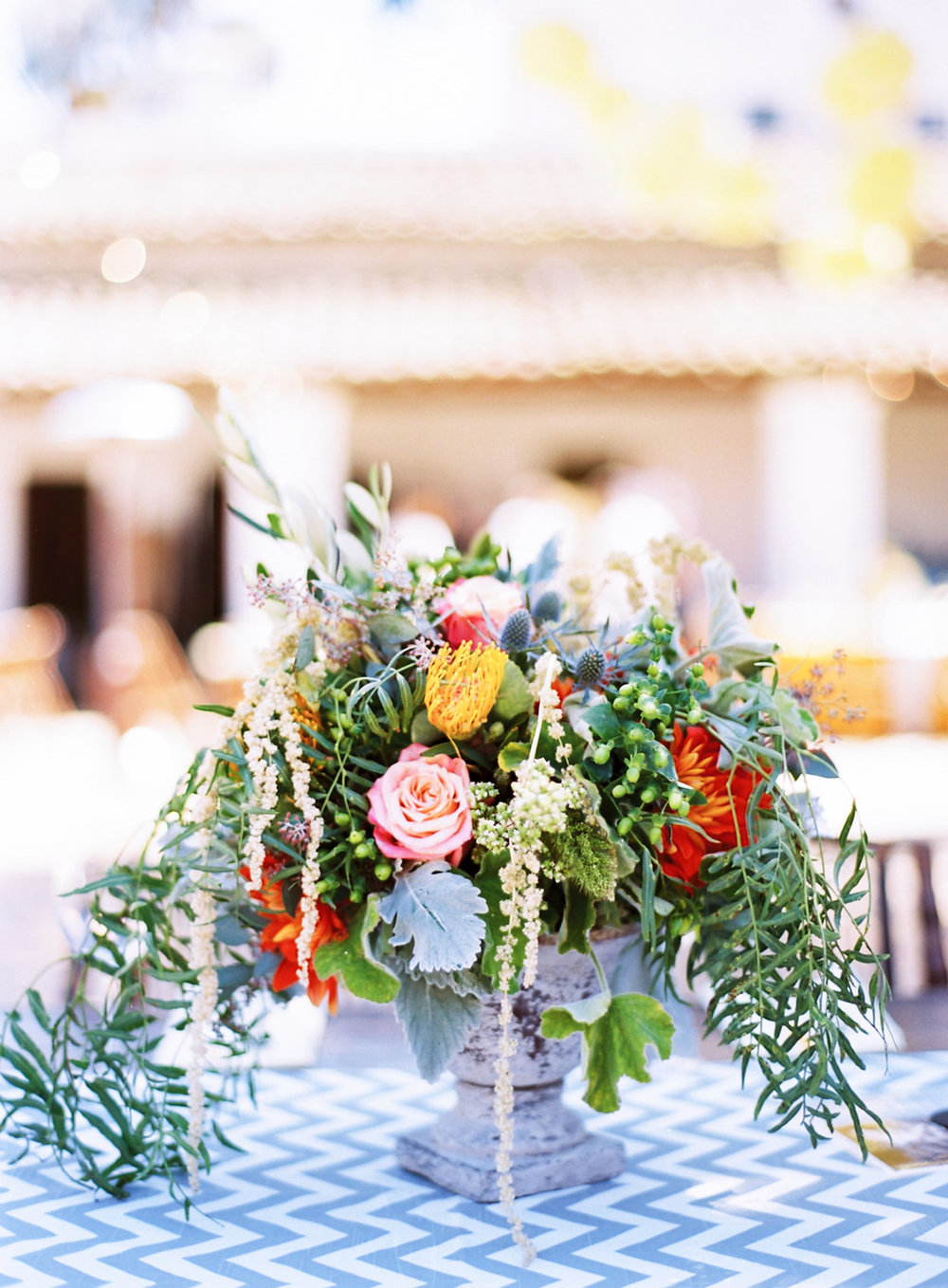 santabarbarawedding.com | Photo: Clarissa Koenig Photography | Yellow and gray wedding ideas