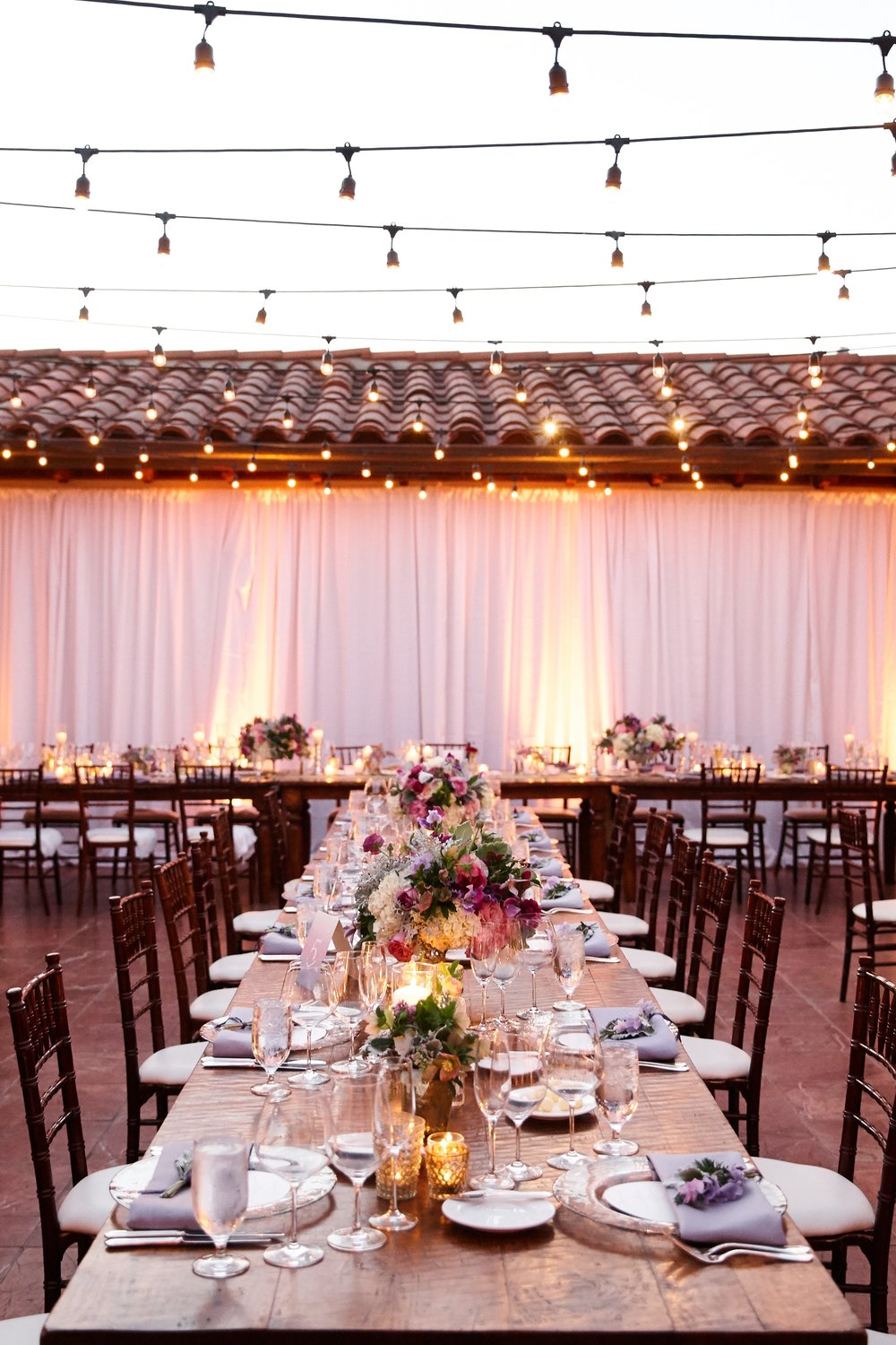 santabarbarawedding.com | SPARK Creative Events | Bacara Resort Rotunda Terrace Lighting