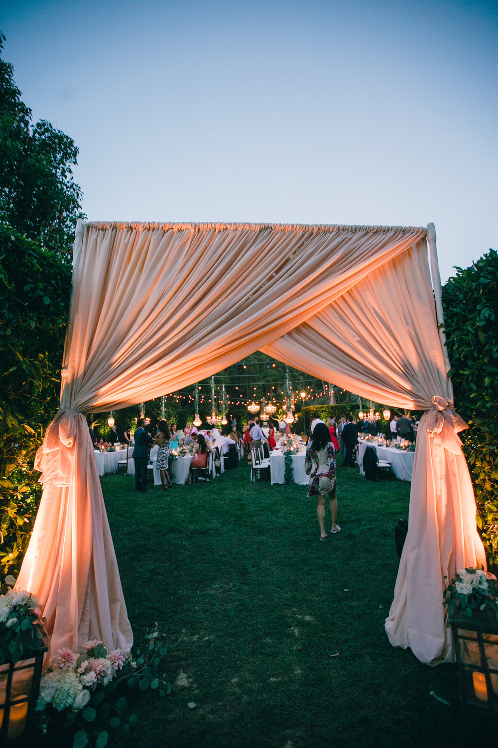 santabarbarawedding.com | SPARK Creative Events | Alter Draping and Lighting