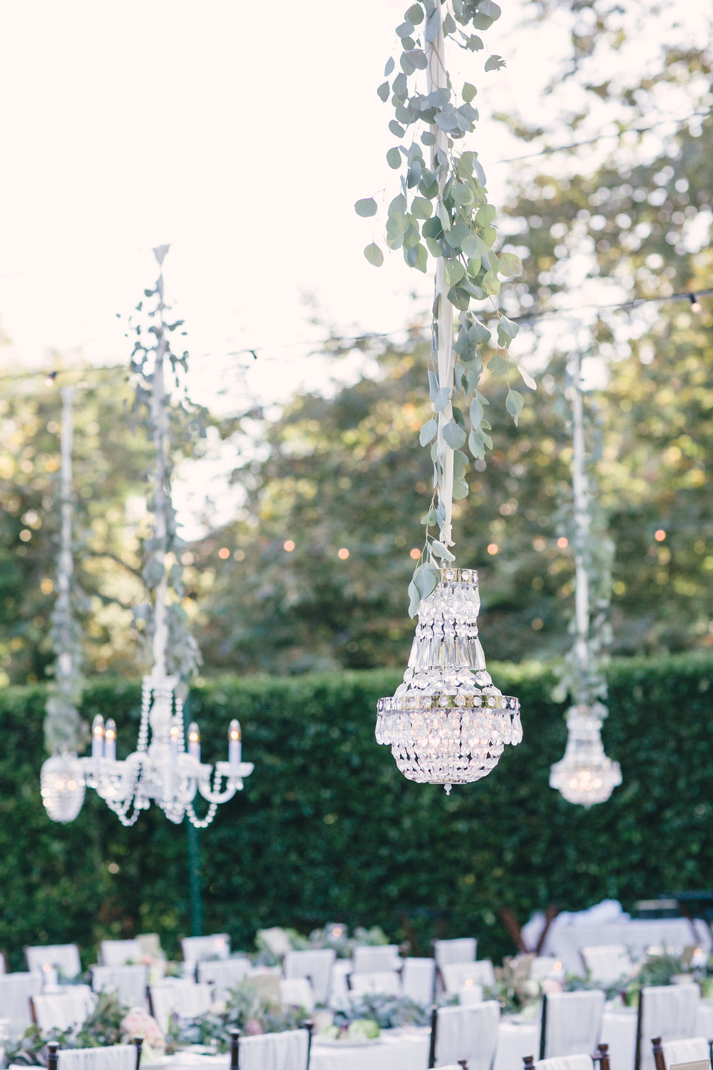 santabarbarawedding.com | SPARK Creative Events | Art Deco Chandeliers