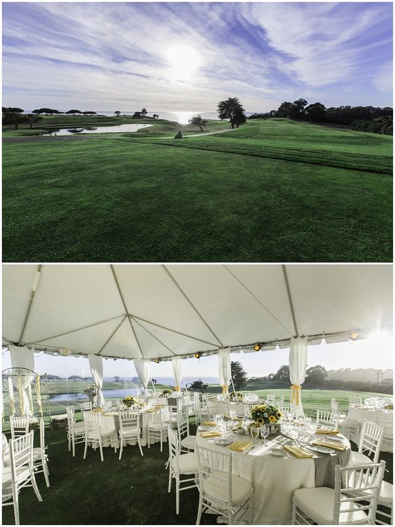santabarbarawedding.com | Sandpiper Golf Club | Wedding location | Golf Course Before and After