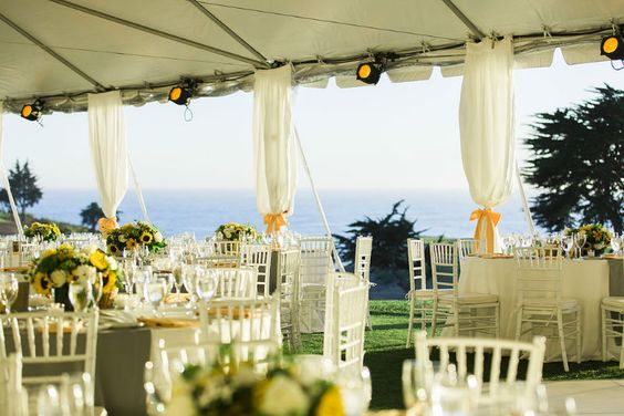 santabarbarawedding.com | Sandpiper Golf Club | Wedding location | Golf Course Tent