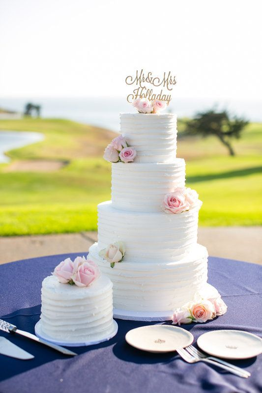 santabarbarawedding.com | Sandpiper Golf Club | Wedding location | Golf Course Cake