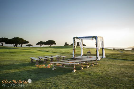 santabarbarawedding.com | Sandpiper Golf Club | Wedding location | Golf Course Ceremony