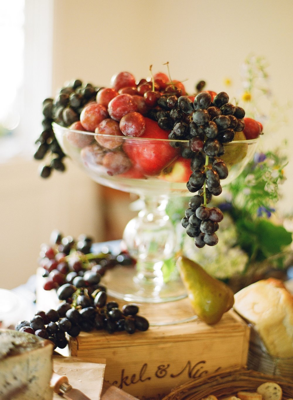 santabarbarawedding.com | Feast & Fest Catering | Fruit Display | Jose Villa
