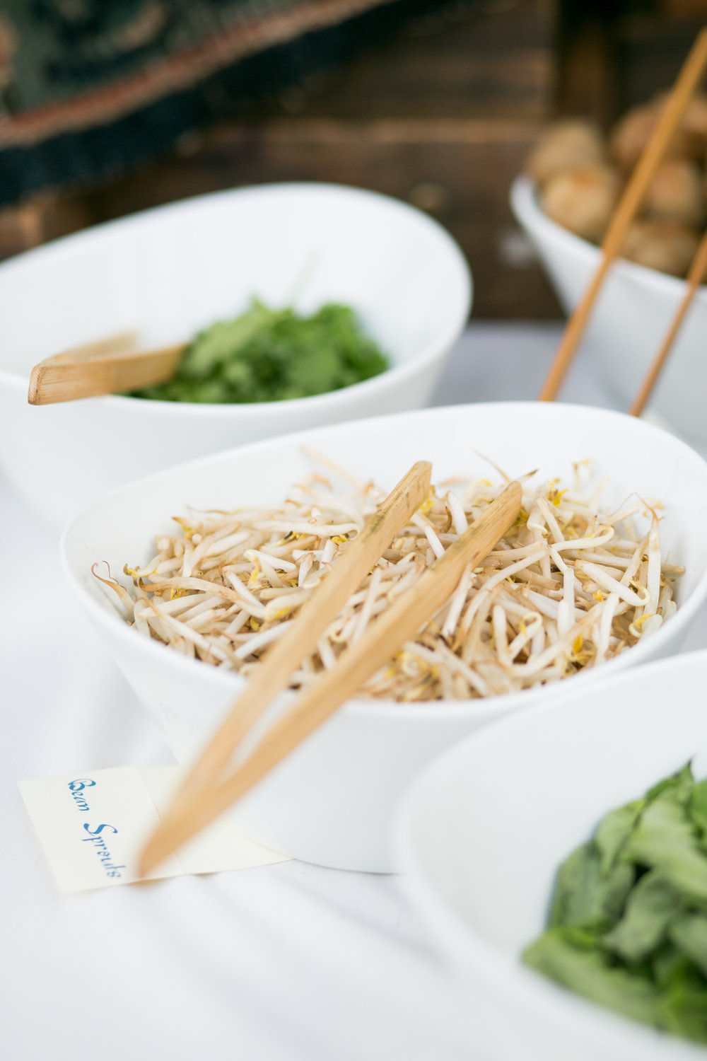 santabarbarawedding.com | Feast & Fest Catering | Asian Noodles | MiBelle Photographers