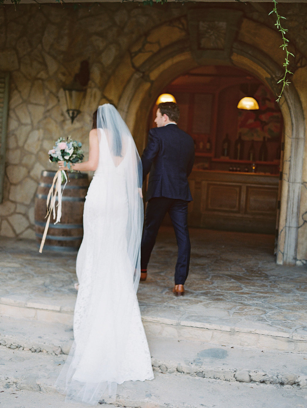santabarbarawedding.com | Photo: Lavender and Twine | Santa Ynez winery wedding location | Sunstone Winery