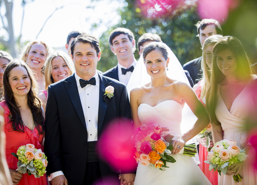 santabarbarawedding.com | photo: Willa Kveta | bougainvillea wedding ideas