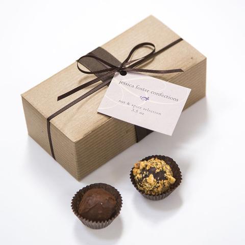 www.santabarbarawedding.com | Jessica Foster Confections | Truffle | Wedding Favors