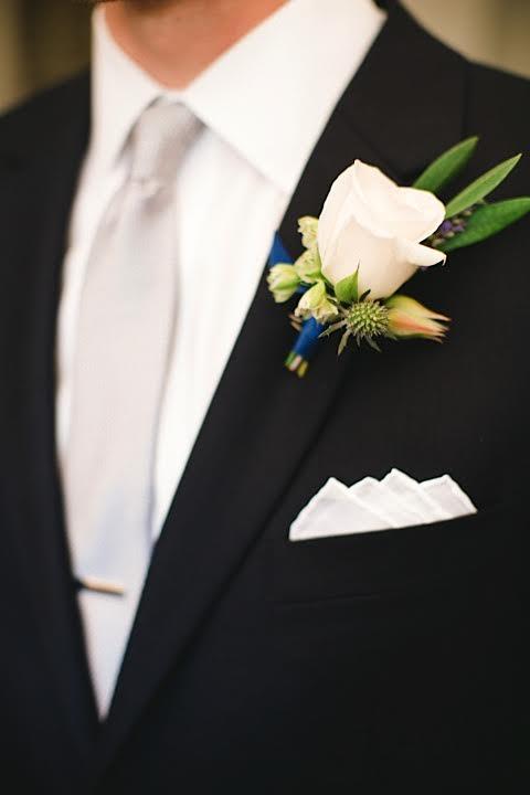 www.santabarbarawedding.com | www.margaretjoanflorals.com | Wedding Floral | Wedding Florist | Groom Boutonniere