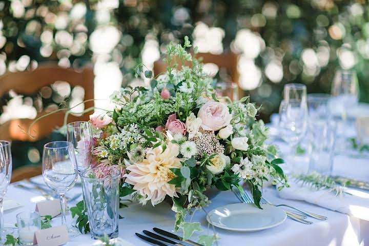 www.santabarbarawedding.com | www.margaretjoanflorals.com | Wedding Floral | Wedding Florist | Centerpiece
