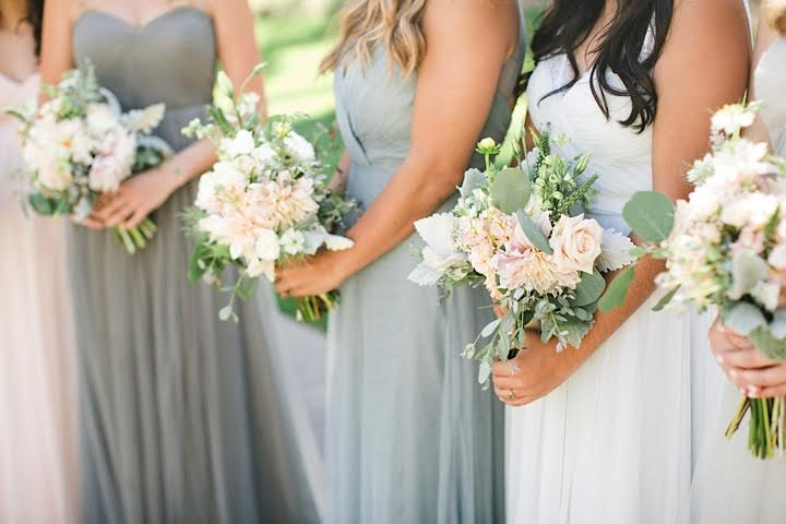 www.santabarbarawedding.com | www.margaretjoanflorals.com | Wedding Floral | Wedding Florist | Bridesmaids Bouquet