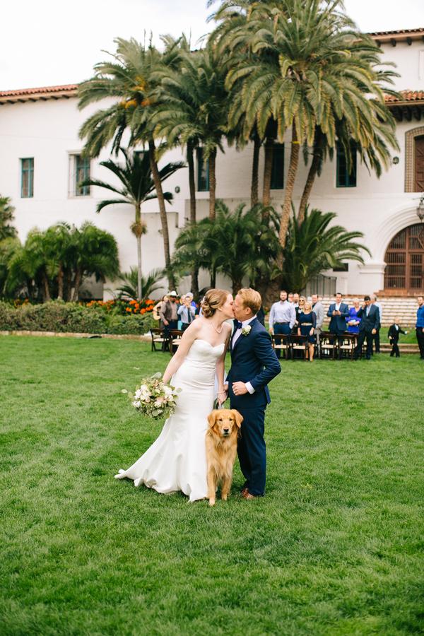 www.santabarbarawedding.com | Sunken Gardens | Santa Barbara Courthouse | Elope In Santa Barbara | Elopement