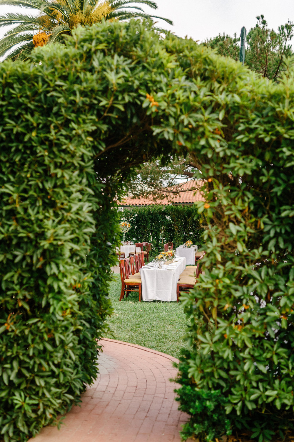 www.santabarbarawedding.com | Riviera Mansion | Matt Roberts Photography | Wedding Venue | Garden Reception