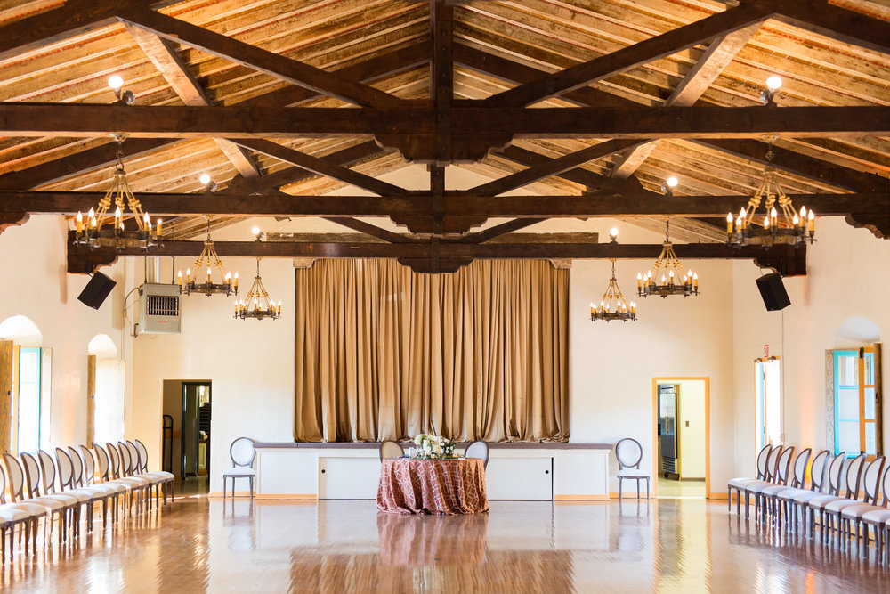 santabarbarawedding.com | Location Spotlight | Wedding Location | Serra Hall | Old Mission