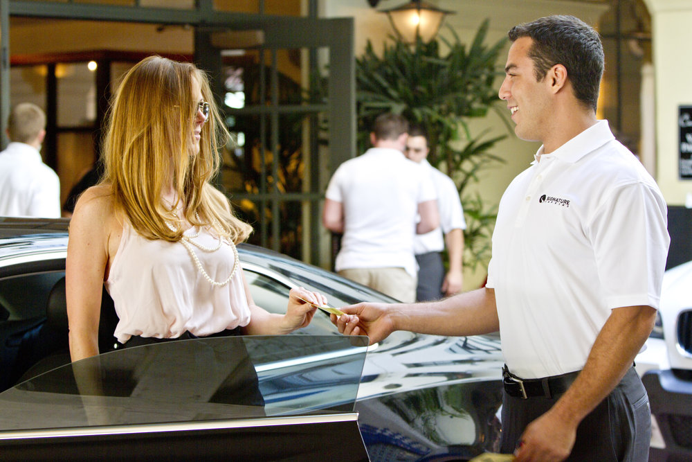 SantaBarbaraWedding.com | Valet Signature Parking