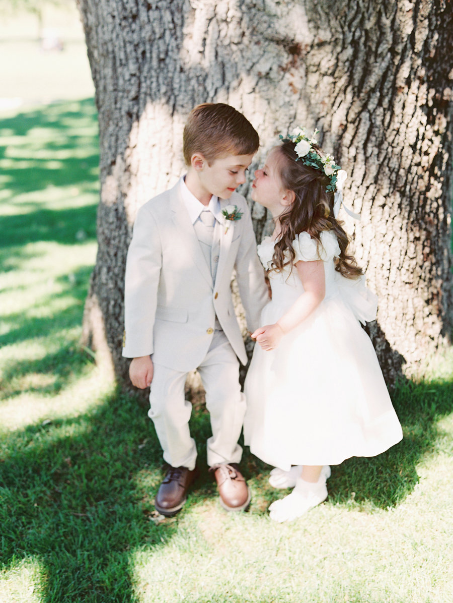 www.santabarbarawedding.com | Lavender and Twine photography | Love | Ring Bearer and Flower Girl