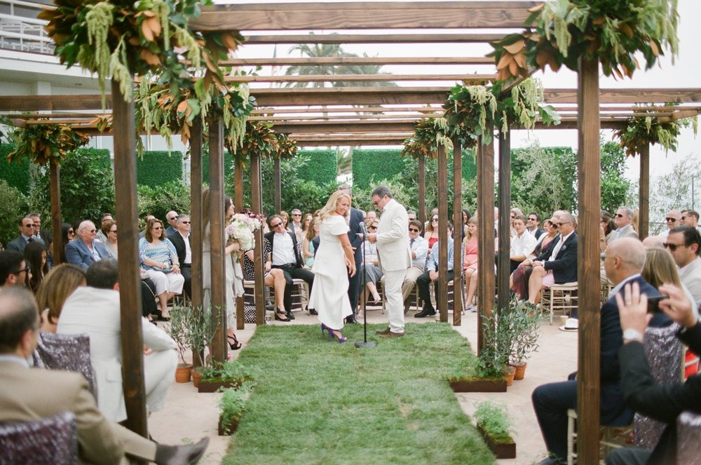 santabarbarawedding.com | Four Seasons Biltmore Wedding in Santa Barbara | Magnolia Event Design | Jose Villa | Ceremony
