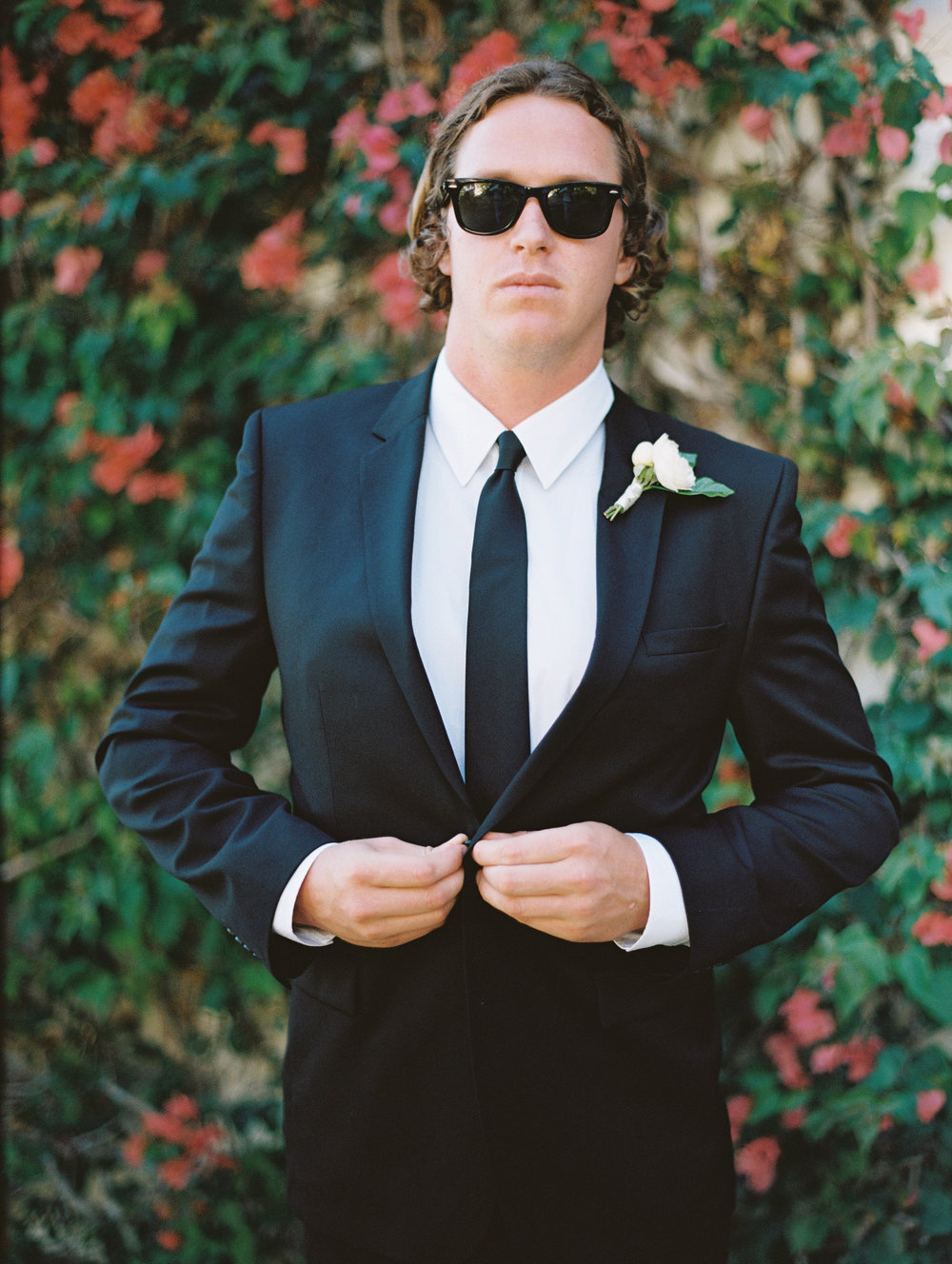 www.santabarbarawedding.com | San Ysidro Ranch | Pat Moyer Photography | Groom