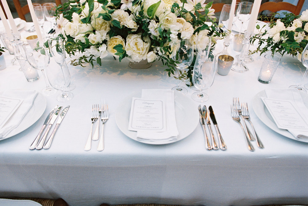 www.santabarbarawedding.com | San Ysidro Ranch | Pat Moyer Photography | Table Setting