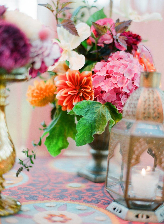 santabarbarawedding.com | Belmond El Encanto | Magnolia Event Design | Jose Villa | Floral Arrangement