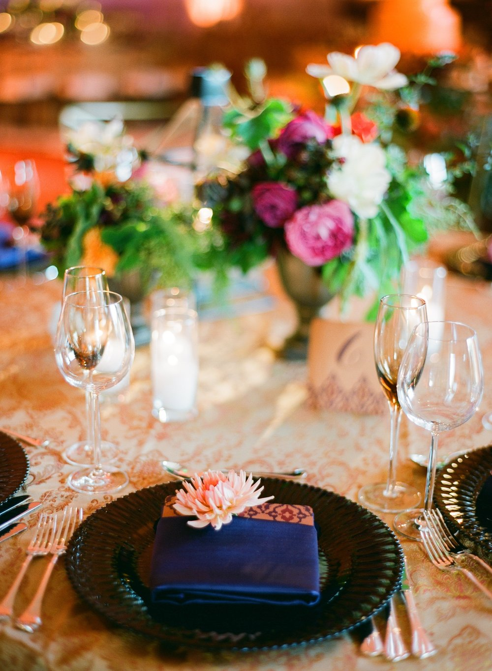 santabarbarawedding.com | Belmond El Encanto | Magnolia Event Design | Jose Villa | Reception Table