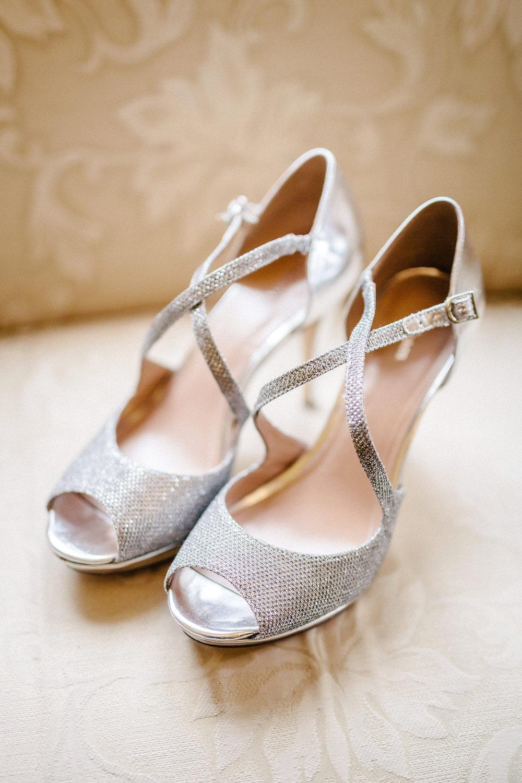 www.santabarbarawedding.com | The Riviera Mansion | Rewind Photography | Wedding Shoes
