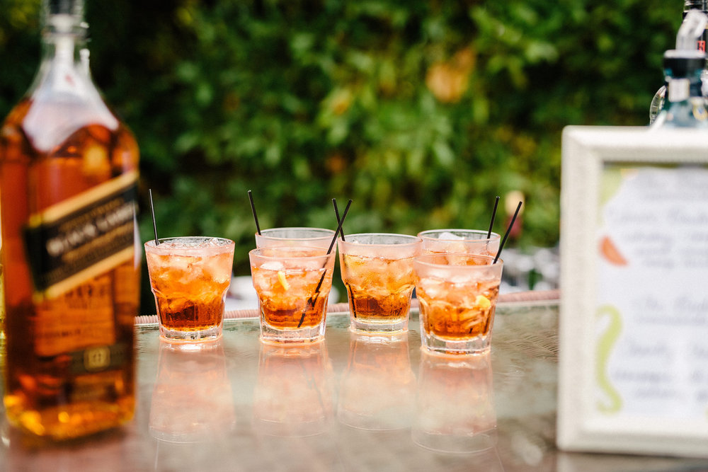 www.santabarbarawedding.com | The Riviera Mansion | Rewind Photography | Specialty Drink