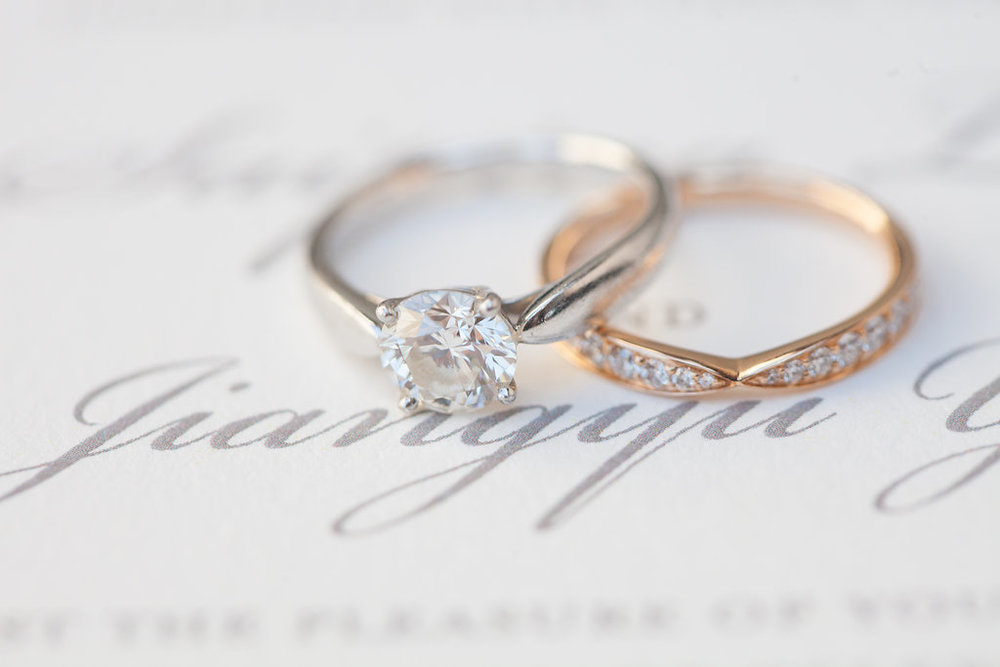 www.santabarbarawedding.com | Rani Hoover | Linda Chaja Photography | Bacara Resort | Wedding Rings